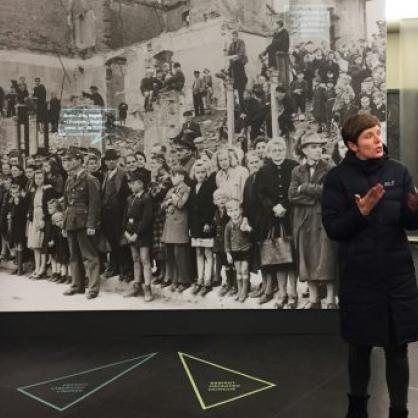 Das Alliiertenmuseum weiht neue Vermittlungsspur ein