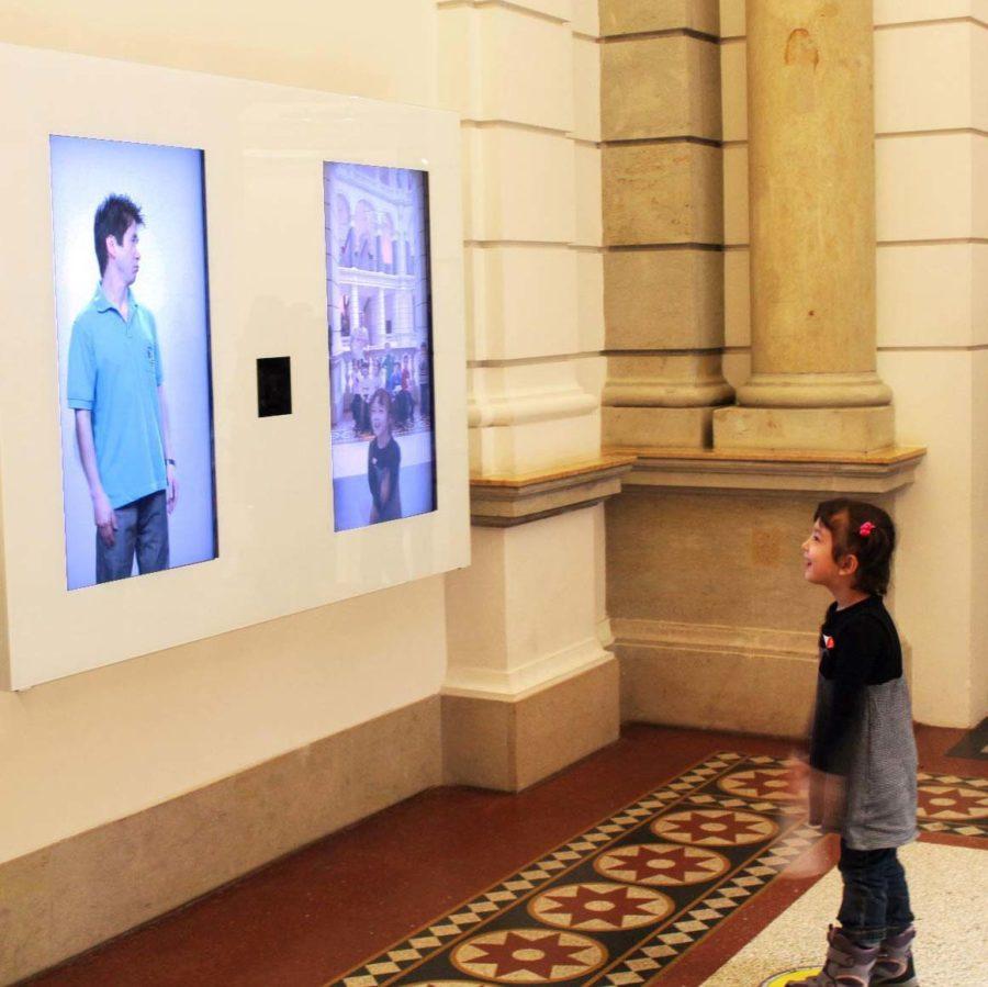 Neugestaltung des Entrees im Museum für Kommunikation abgeschlossen