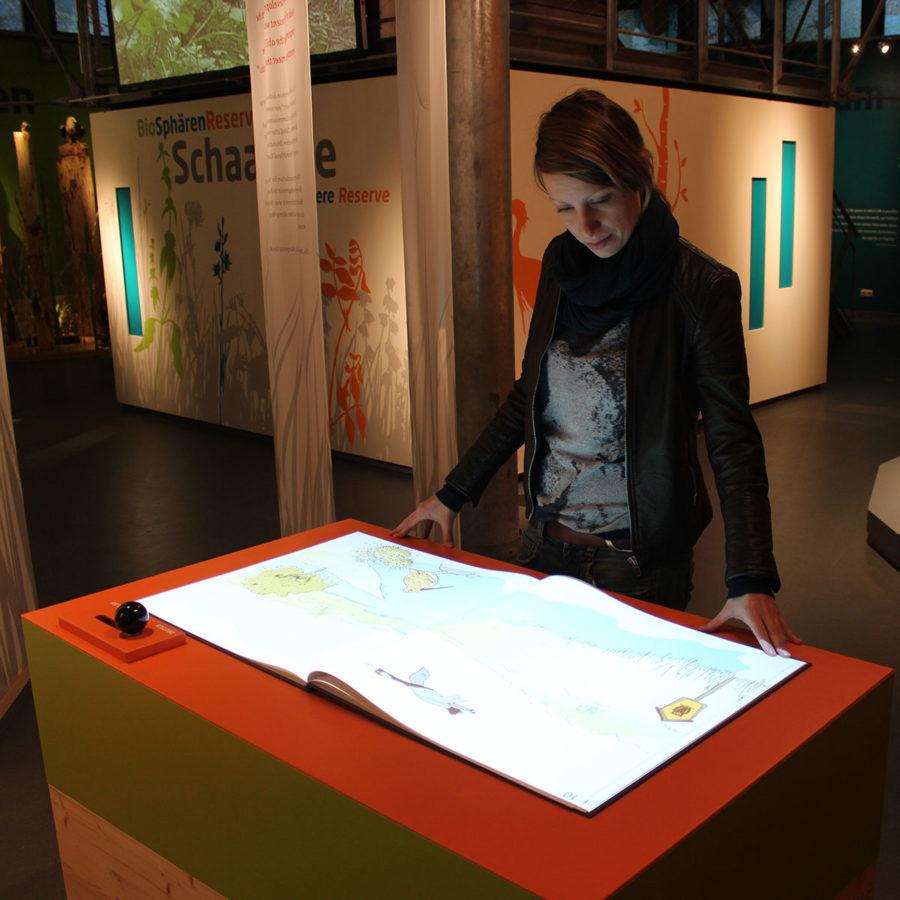 """""""Magic Book"""" im Biosphärenreservat Schaalsee eingeweiht"""