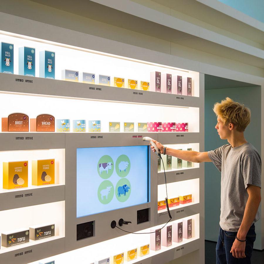"""Medien-Installation """"Supermarkt"""" im Hygiene-Museum eröffnet"""