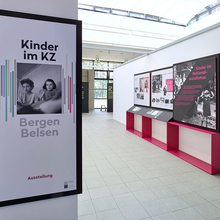 """Ausstellung """"Kinder im KZ Bergen-Belsen"""" eröffnet"""