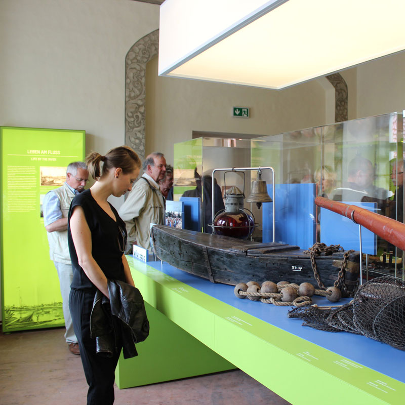 Erste Impressionen des Museums »Mühlberg 1547«